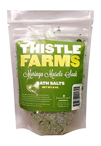 Thistle Farms Essential Oil Bath Salts (3, Moringa Muscle Soak)