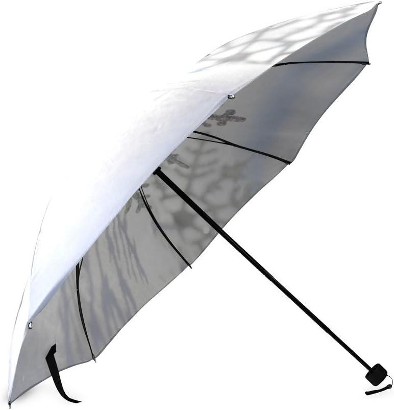 Beautytool Custom Les Flocons Foldable Umbrella Sun Rain Anti-Uv