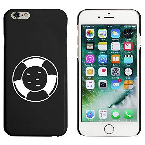Noir 'Bouee de Sauvetage' étui / housse pour iPhone 6 & 6s (MC00090826)
