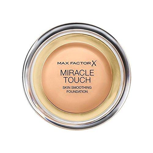 マックスファクターの奇跡のタッチ基盤黄金の75 x4 - Max Factor Miracle Touch Foundation Golden 75 (Pack of 4) [並行輸入品] B0716DFW88