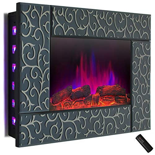 tempered glass fireplace - 7