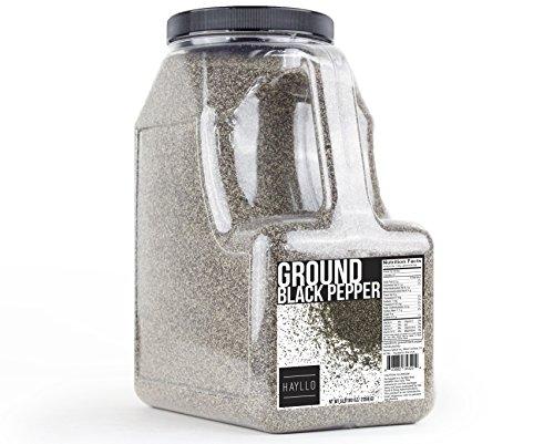 Hayllo Ground Black Pepper , 5 Pound by Hayllo (Image #1)'