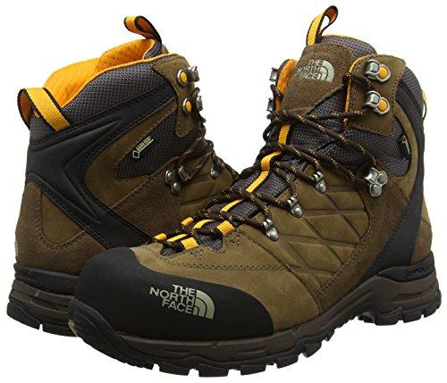 0a47aedddfc The North Face Verbera Hiker II Gore-Tex, Men High Rise Hiking Shoes, Brown  (Cub Brown/Zinnia Orange L7P), 11.5 UK (46 EU): Amazon.co.uk: Shoes & Bags