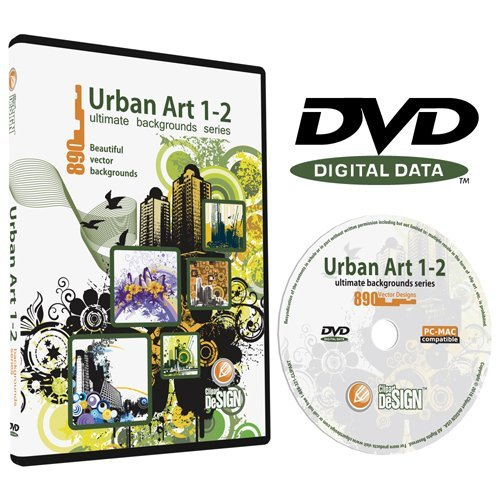 Urban Art 1-2 Backgrounds Bundle-Vector Clip Art Images-Grunge Urban Background-Building Clipart Illustration-Graphic Design - Graphic Backgrounds Design
