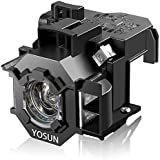 YOSUN V13H010L41 Projector Lamp Bulb for Epson Home Cinema PowerLite 77c S5 78 S6 S6+ EX21 EX30 EX50 EX70 H283A H284A for ELPLP41 Replacement Projector Lamp Bulb