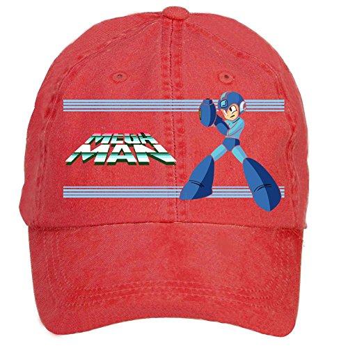 [Kittyer Unisex Mega Man Adjustable Baseball Hat] (Megaman Hat)