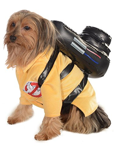 Ghostbusters Movie Pet Costume, Small, Ghostbuster Jumpsuit -