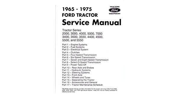 Ford 3430 Tractor Wiring Diagram Posts. Amazon 1965 1975 Ford Tractor 2000 7000 Service Manual Book 2910 Wiring Diagram. Ford. 5030 Ford Tractor Starter Wiring Diagrams At Scoala.co