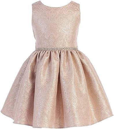 Amazon.com: Sweet Kids Girls' Imperial Brocade Girls' Dress: Clothing