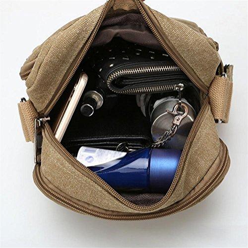 pengweiOcio Messenger bolsa hombres y mujeres bolsa de hombro universal bolsa de viaje multiusos al aire libre , 3 1