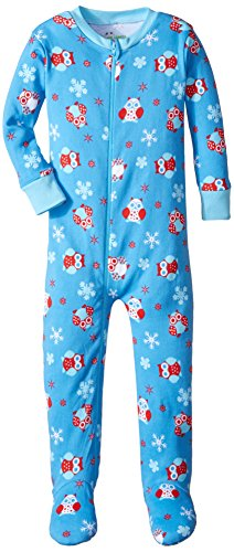 New Jammies Little Boys' Toddler Zippered Footie Pajamas,...
