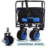 TMZ All Terrain Wide Wheel Utility Folding