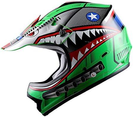 WOW Youth Kids Motocross BMX Helmet