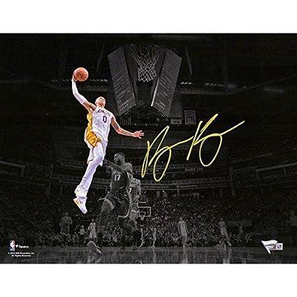 "24751dffb3b KYLE KUZMA Los Angeles Lakers Autographed 11"" x 14 Spotlight  Photograph FANATICS - Fanatics Authentic"