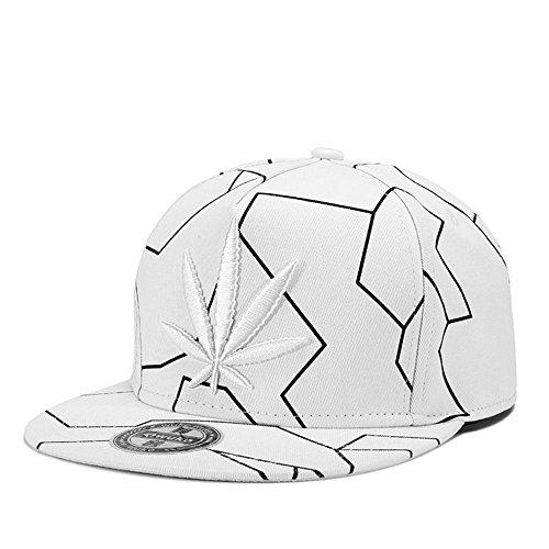 MENGMA BBOY casquillo Hip del béisbol la Hop de del Hombre sombrero gorra Weed Snapback sombrero de casquillo del de negro calle del del regalos tBABr