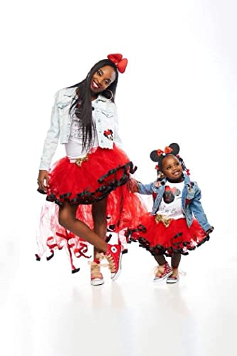 Mommy and Me tutu outfit, Mother