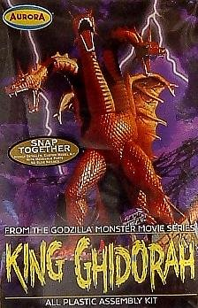 - King Ghidorah Model Kit Polar Lights Aurora From Godzilla