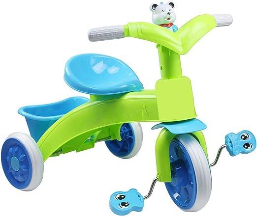 HAOT Patinete,Niños Bicicleta Andador Infantil Tres Ruedas Bicicletas con Luz Música Scooter Animal Patrón de Dibujos Animados: Amazon.es: Hogar