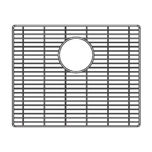 Price comparison product image Blanco 231175 Sink Grid for Attika 20-Inch Single Bowl Kitchen Sink,  Medium,  Stainless Steel by Blanco
