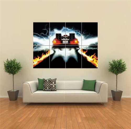 BACK TO THE FUTURE CULT CLASSIC MOVIE FILM GIANT WALL POSTER PRINT NEW G1304 by Doppelganger33LTD - Giant Movie Poster