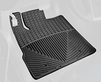Black WeatherTech Trim to Fit Front Rubber Mats