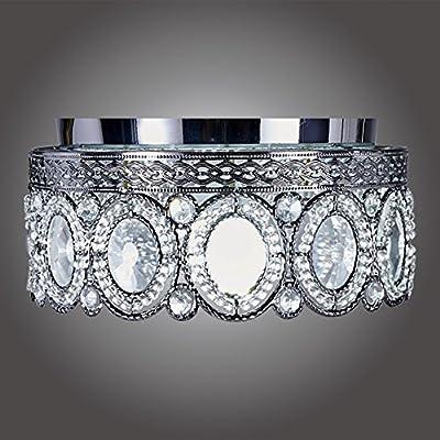 MonaLisa Gallery Crystal Chandeliers Flush Mount Ceilling Pendant Light Fixture Lighting SML-168 W12xH9S