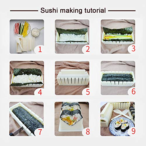 Amazon.com: Sushi Making Kit – Original Sushi Maker Deluxe ...