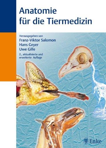 Anatomie für die Tiermedizin: Amazon.de: Franz-Viktor Salomon, Hans ...