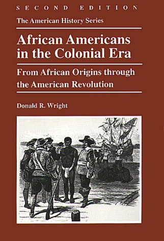 an analysis of donald r wrights african americans in the early republic African americans in the early republic, 1789-1831 / donald r wright  black  religion and black radicalism : an interpretation of the religious history of african.