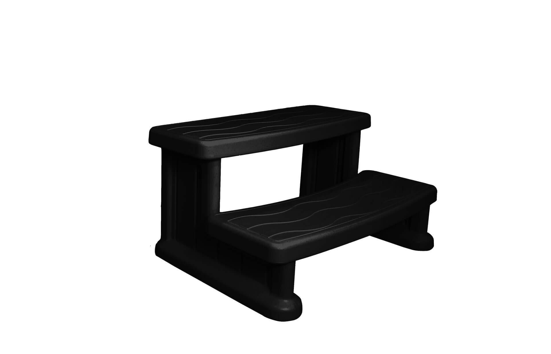 Cover Valet SSSBLK Spa Side Step, Black
