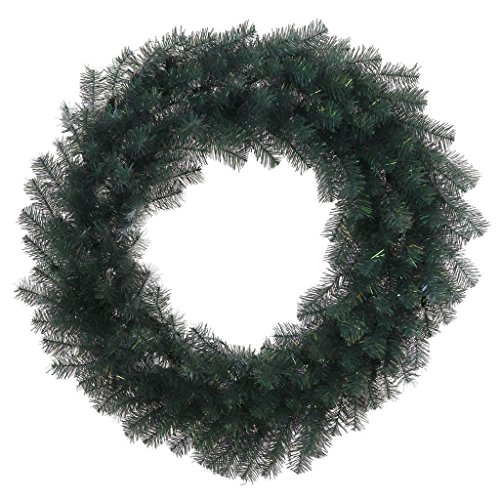 Crystal Pine Wreath - Vickerman 30986 - 36