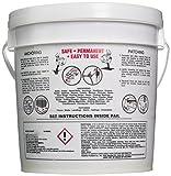 Hartline Prod. 3703-6076 CO INC 10010 10LB Anchor Cement, 10 lb, White/Gray