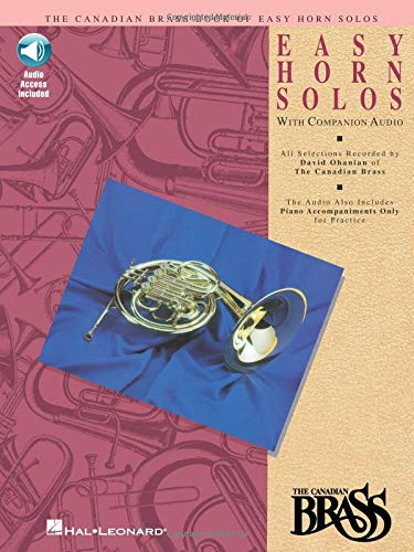 (Canadian Brass Book of Easy Horn Solos: Book/Online Audio)