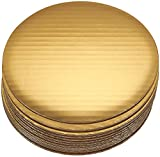 Cake Boards - 12-Piece Cardboard Round Cake Circle Base, Gold