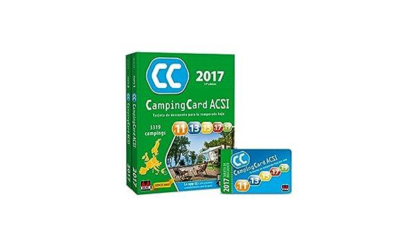 CampingCard ACSI 2017 - Paquete 2 partes: Amazon.es: ACSI ...