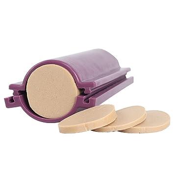 Forma circular del tubo de la columna del molde del jabón del silicón de Nicole para el molde hecho a mano del tubo de DIY: Amazon.es: Juguetes y juegos