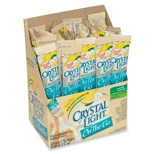 crystal light red tea - 2