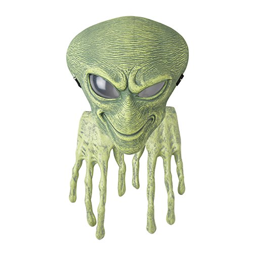 California Costumes Boy's Alien Mask and Hands Set Kit, Green, One Size]()