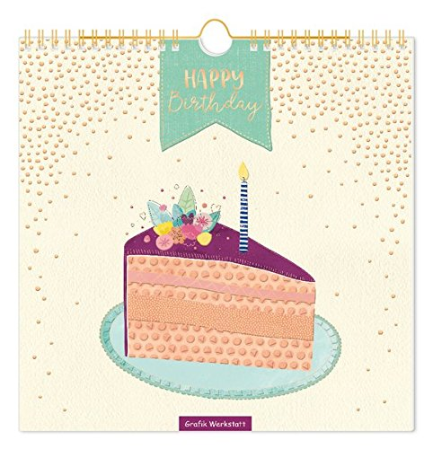 Lieblingsstücke - Geburtstagskalender: immerwährender Geburtstagskalender, Wandkalender