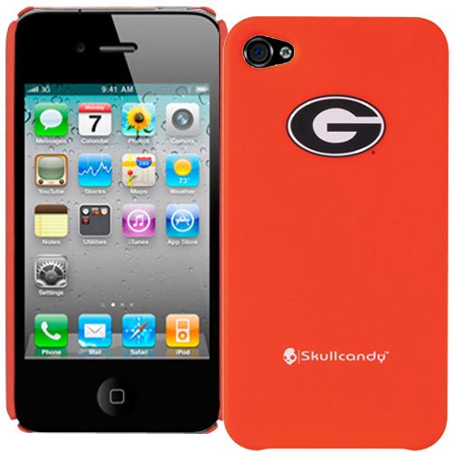 iphone 4 case georgia bulldog - 4