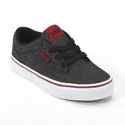 c1791be6 Amazon.com: Vans Black Winston Skate Shoes - Boys: Everything Else
