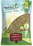 Organic Brown Coconut Sugar by Food to Live (Non-GMO, Pure Palm Sugar, Kosher, Vegan, Fair Trade, Unrefined, Granulated, Low Glycemic Sweetener, Highly Nutritious, Perfect for Baking, Bulk) — 5 Pounds