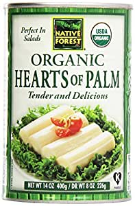 Native Forest, Organic Hearts of Palm, 14 oz (400 g) by Native Forest