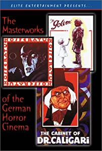 The Masterworks of the German Horror Cinema (Nosferatu / The Cabinet of Dr. Caligari / The Golem) [Import]