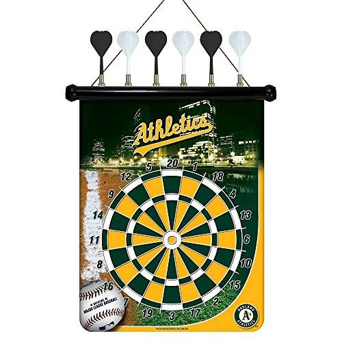 MLB Oakland Athletics Magnetic Dart Board - Oakland Athletics Dart