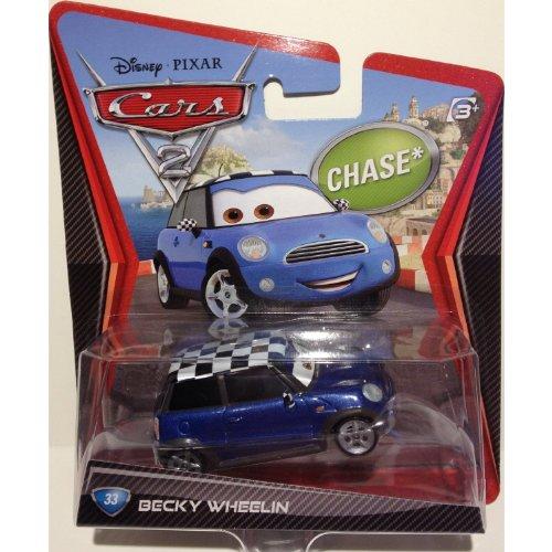 Disney/Pixar Cars 2, Movie Die-Cast Vehicle, Becky Wheelin #33, 1:55 Scale by Mattel Disney Cars 2 Mini