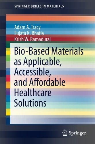 Download Bio-Based Materials as Applicable, Accessible, and Affordable Healthcare Solutions (SpringerBriefs in Materials) pdf