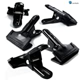 LimoStudio Set of 5 Photo Studio Universal Pro Muslin/Paper Clamps, AGG900