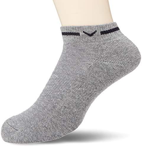 [キャロウェイ アパレル][メンズ] 防菌 防臭 アンクルソックス (ドラロン採用) / 241-8285500 / 靴下 ゴルフ メンズ