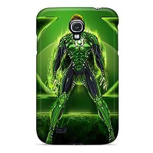 JonBradica Samsung Galaxy S4 Durable Cell-phone Hard Covers Support Personal Customs Attractive Green Lantern I4 Skin [DeG10618rLkO]